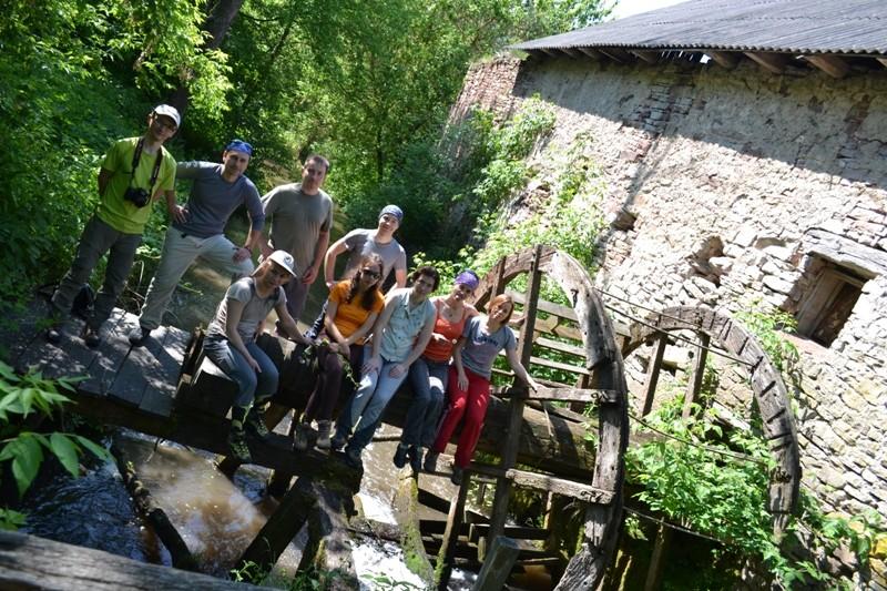 Поход вдоль Днестра. Джуринский Водопад, Червоногородский Замок